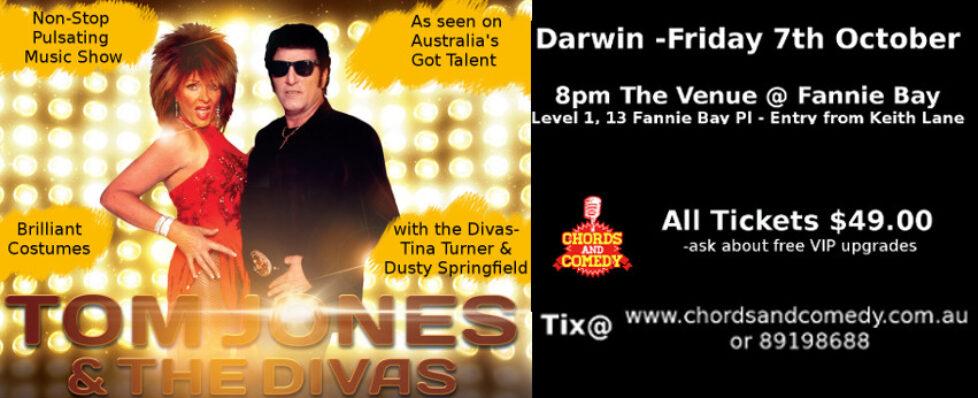 Tom Jones and The Divas Tribute Live in Darwin