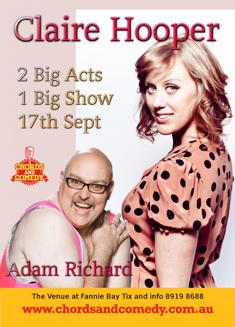 Claire Hooper and Adam Richard  in Darwin 20th August
