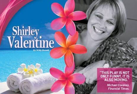 Shirley Valentine in Darwin 20th July