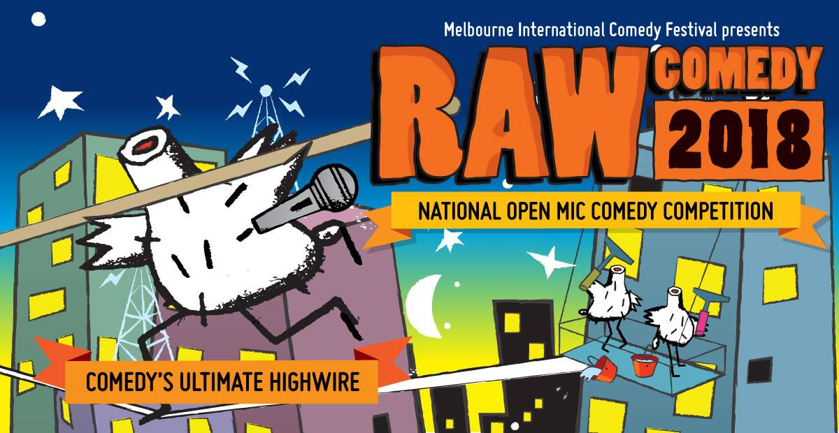 Raw Comedy Final NT March 2018