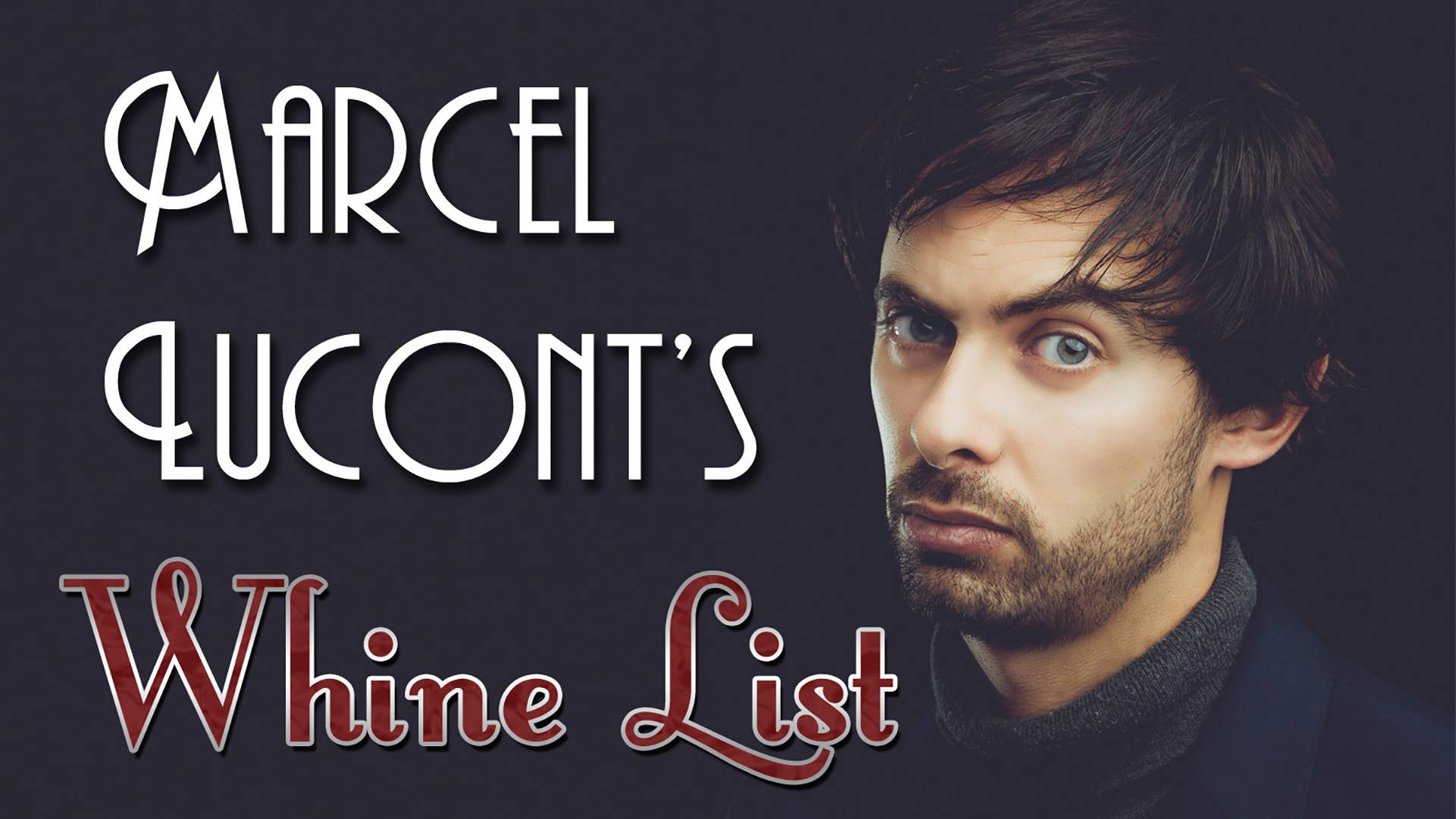 Marcel Lucont – Whine List in Darwin March 23rd
